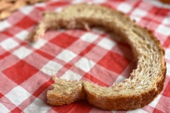 Bread Crust Food Waste