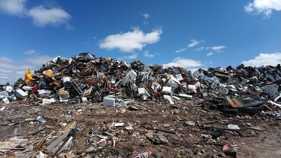 Scrapyard Trash Pile