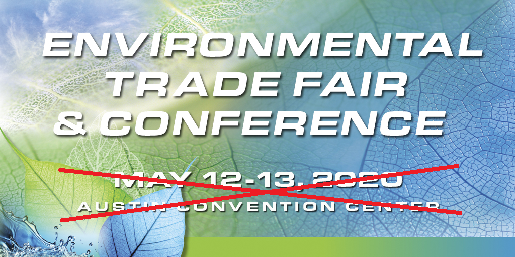 2020 Environmental Trade Fair and Conference Graphic