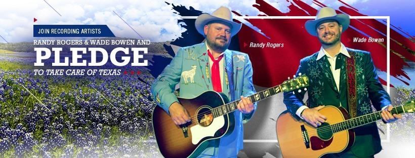 Randy Rogers and Wade Bowen PSA
