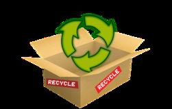 Cardboard Recycling Box