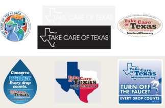 Take Care of Texas Stickers