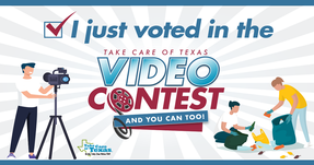 I voted in video contest