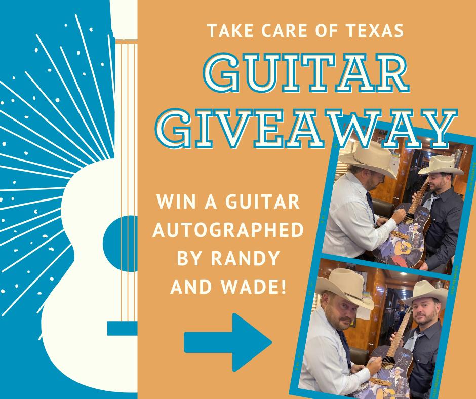 Randy and Wade Signed Guitar Giveway