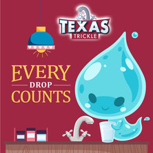 Every drop counts social media graphic