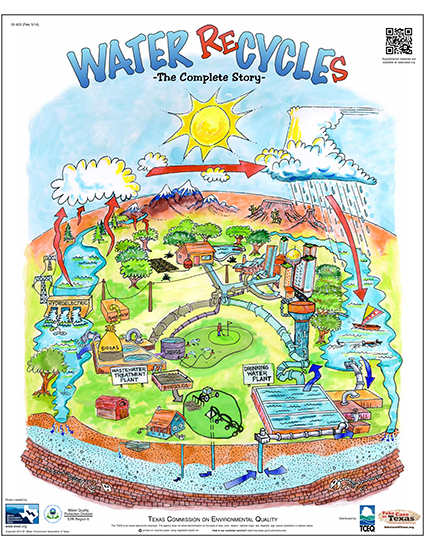 Water Cycles Poster