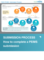 PEIMS Process Flow infographic