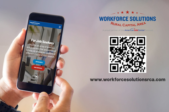 Workforce Solutions Rural Capital Area Website Relaunch