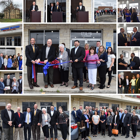 Workforce Solutions Rural Capital Area Lockhart One-Stop Center Ribbon Cutting Ceremony