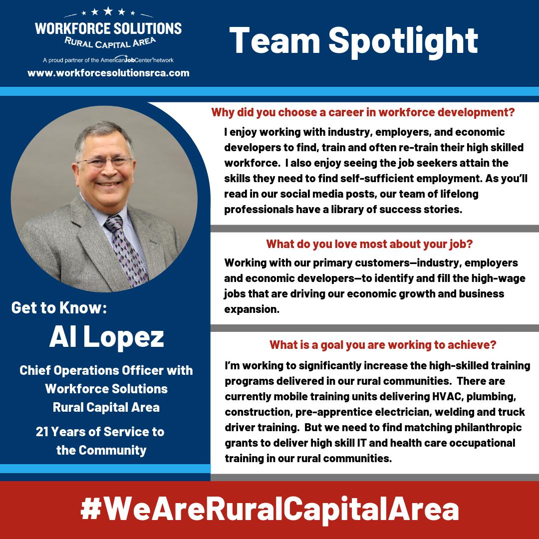 We Are Rural Capital Area Spotlight Al Lopez