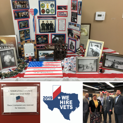 WSRCA We Hire Vets Recognition