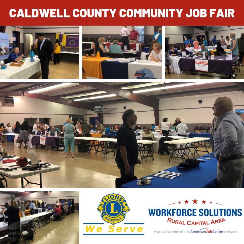 Caldwell County Community Job Fair