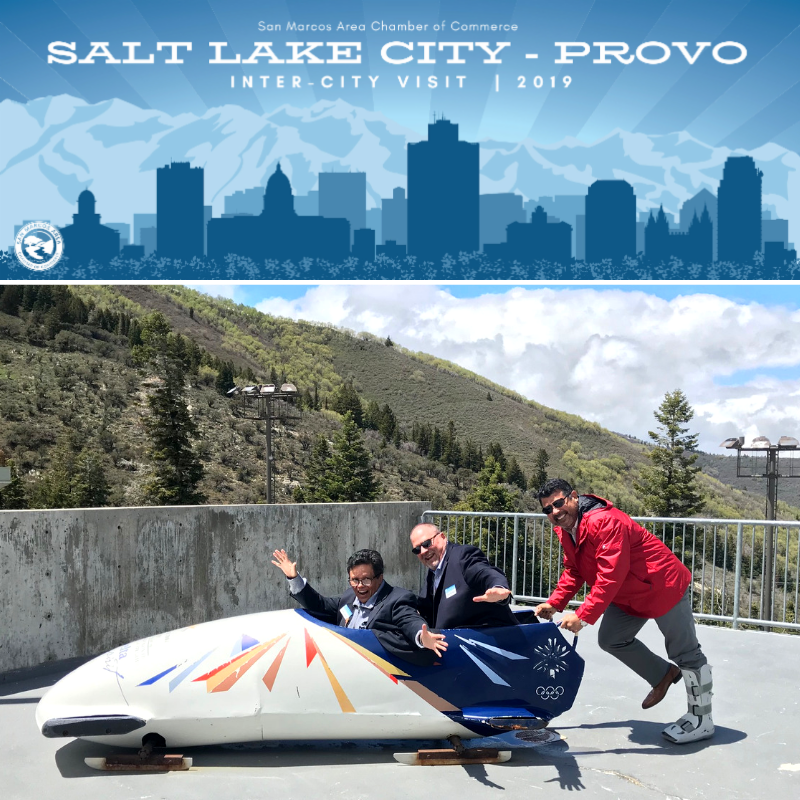 Salt Lake City Inter-City Visit with San Marcos Chamber of Commerce