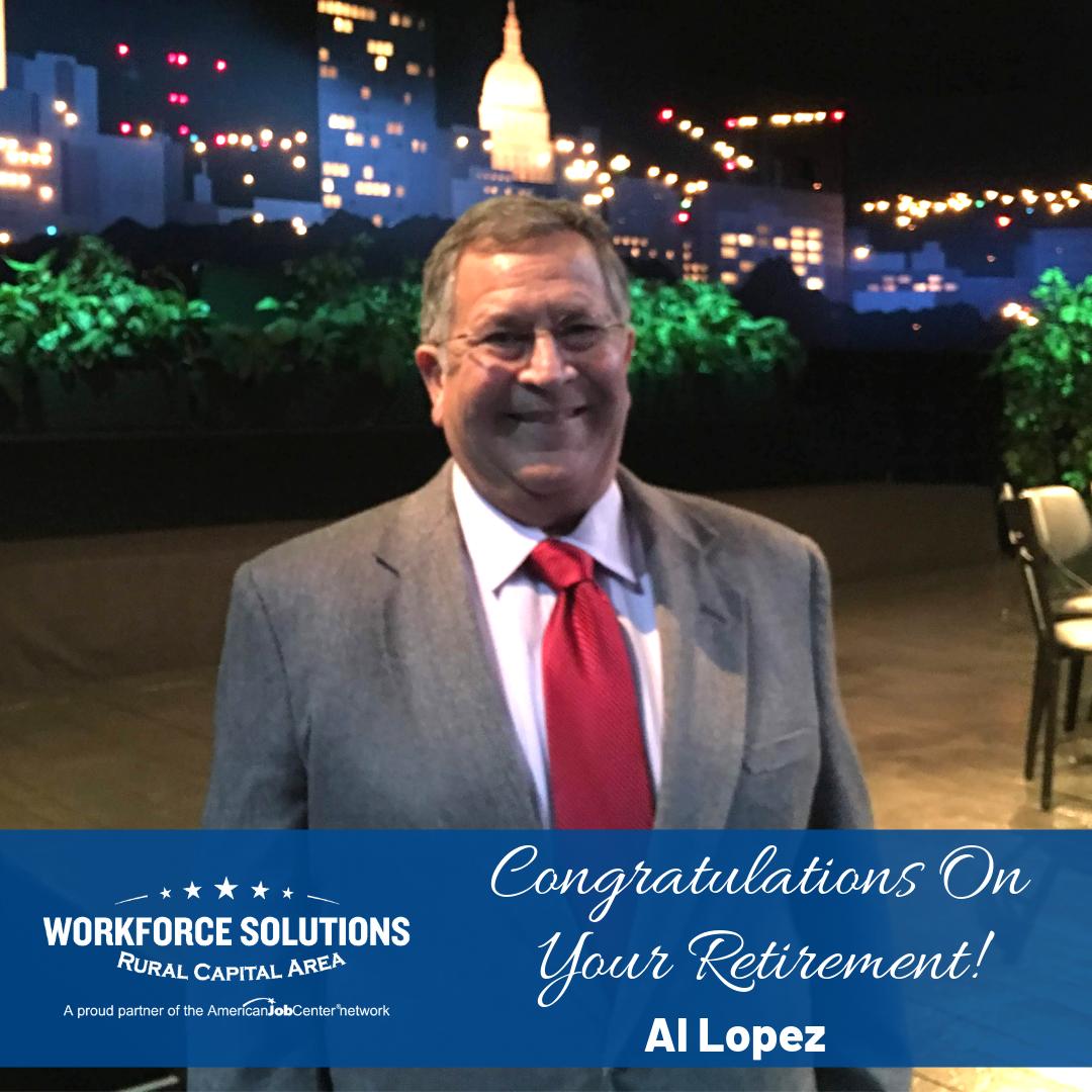 WSRCA COO Al Lopez Announces His Retirement