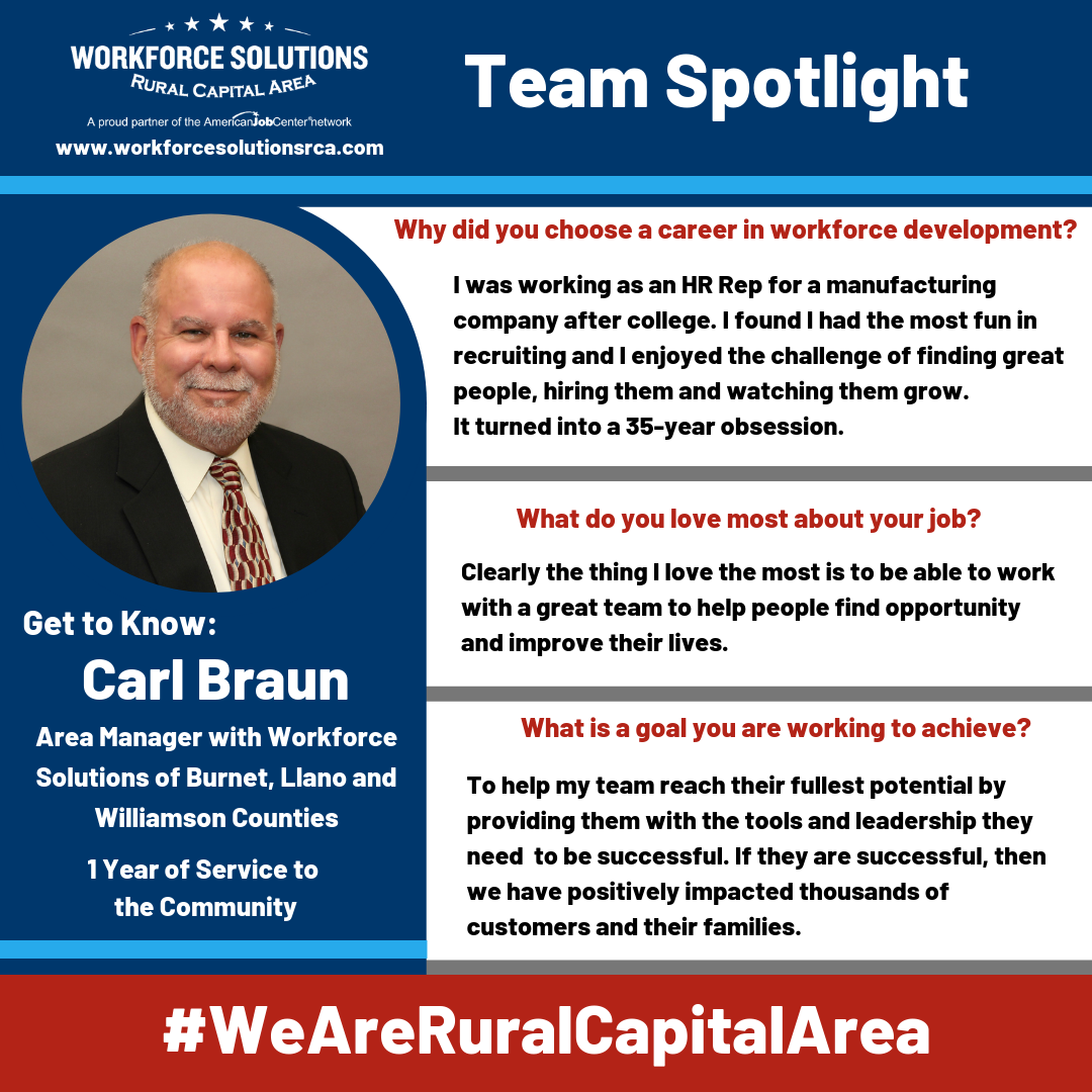 We Are Rural Capital Area Team Spotlight