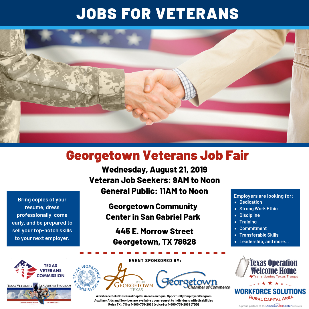 Georgetown Veterans Job Fair