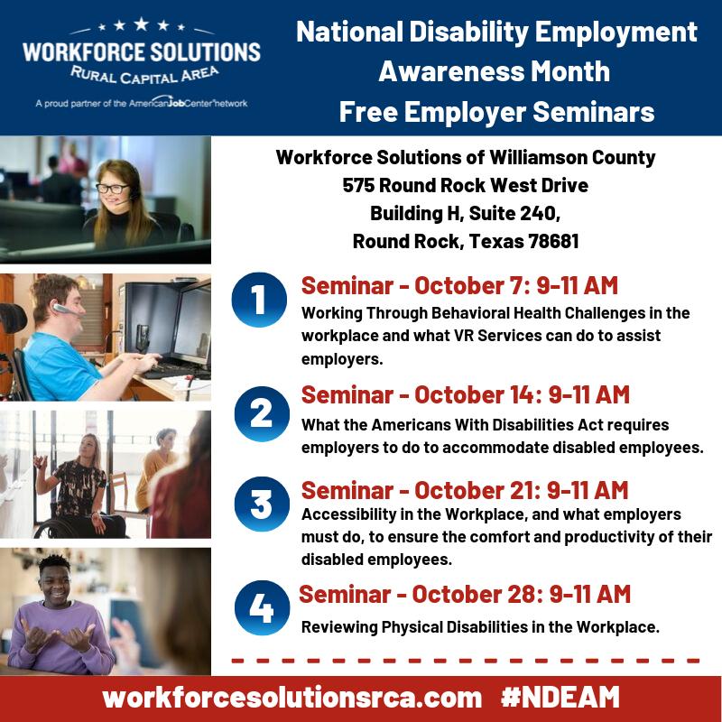 NDEAM Employer Seminars