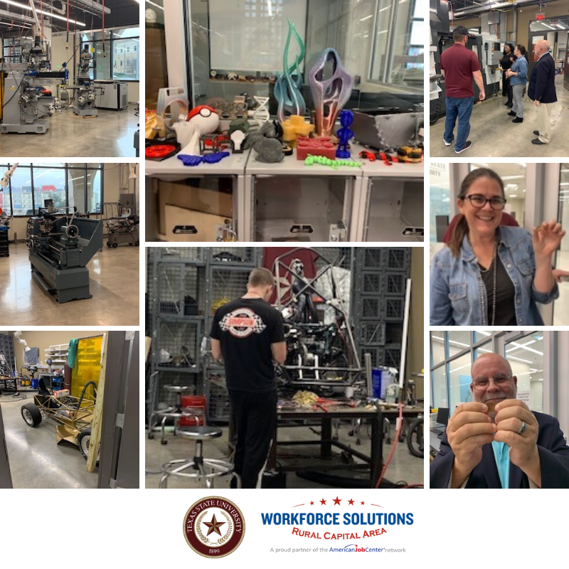 WSRCA Team Tours Texas State University's School of Engineering Makerspace