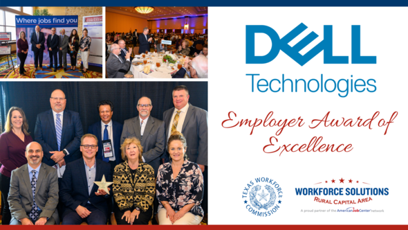 Dell Technologies WSRCA Employer of Excellence Award