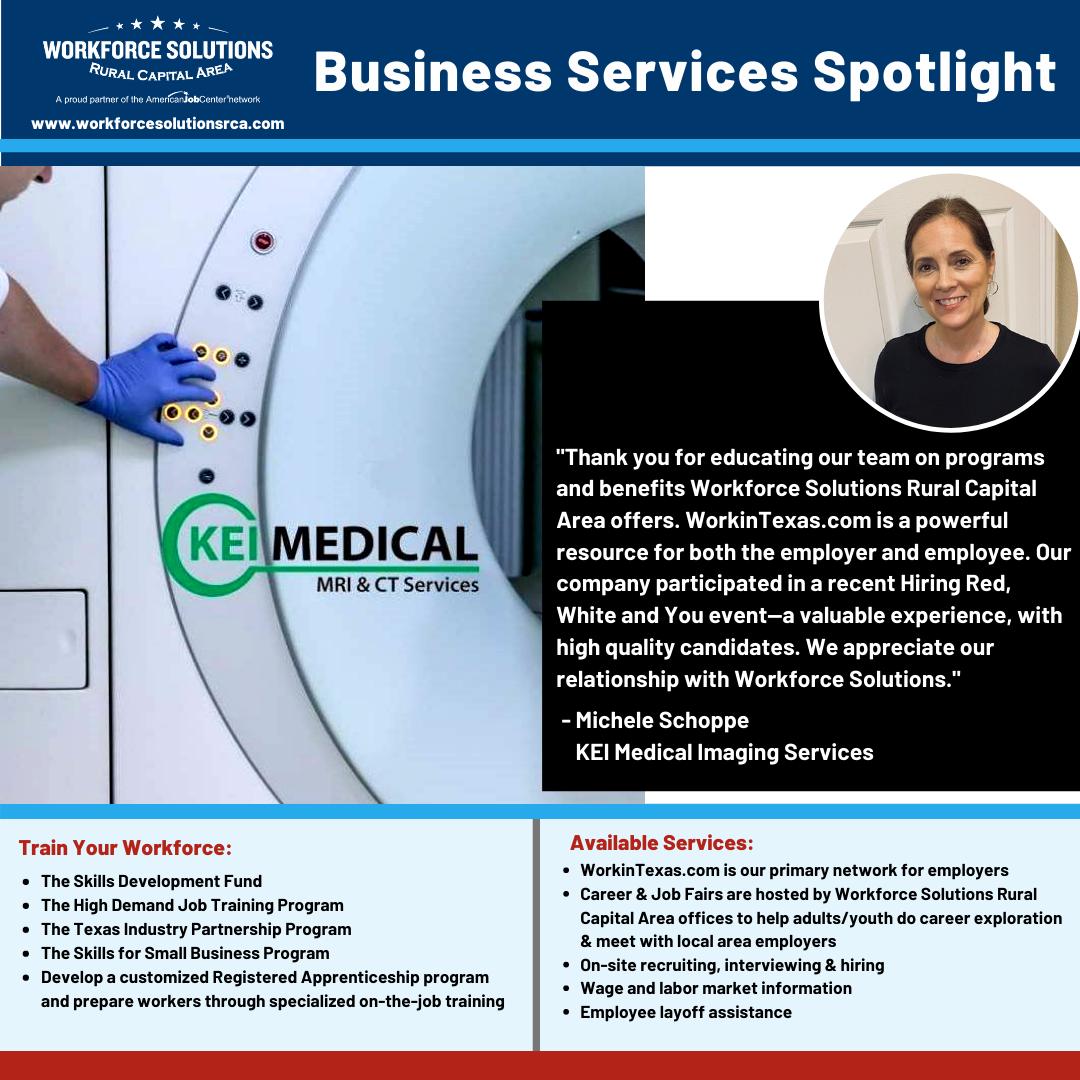 Business Services Spotlight: KEI Medical Imaging