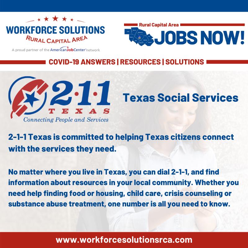 Texas 211 Services