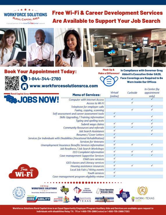 WSRCA Free Wi-Fi