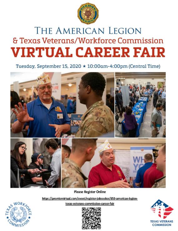 American Legion Veterans Job Fair