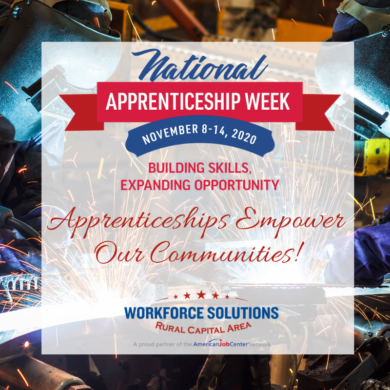 WSRCA National Apprenticeship Week 2020