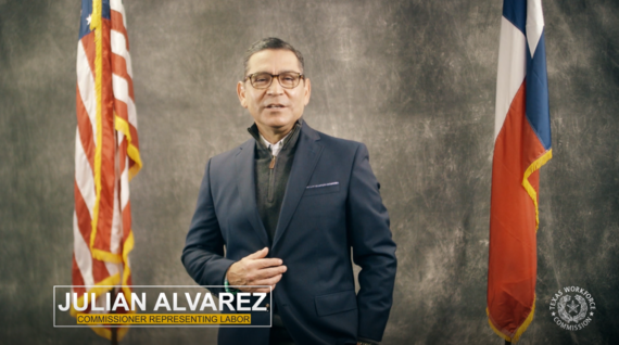 TWC Labor Commissioner Julian Alvarez on National Apprenticeship Week