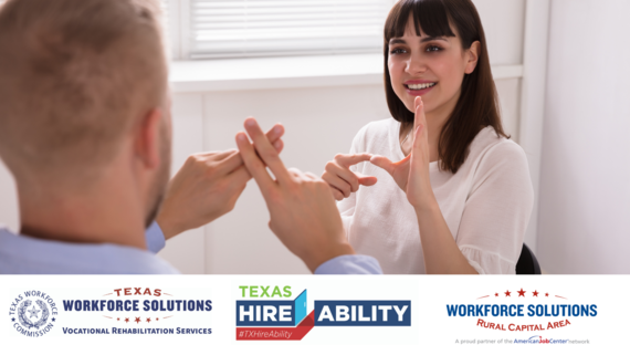 American Sign Language Texas HireAbility