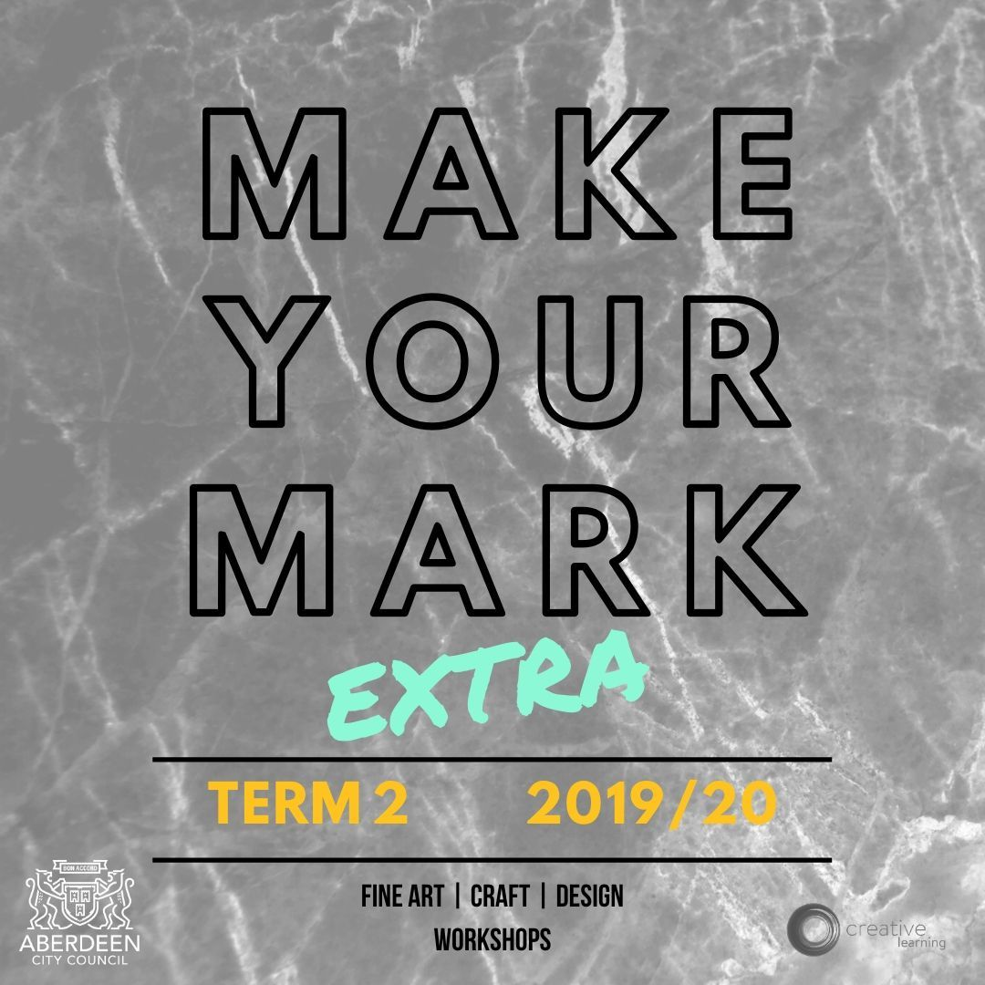 Make Your Mark EXTRA - brand new one off sessions for