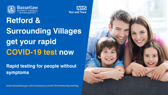 Get your free rapid test