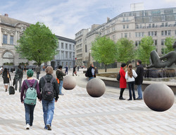 Artists' impression of Victoria Square
