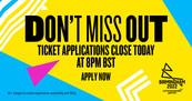 Don't miss out enter the Birmingham 2022 ticket ballot