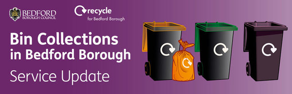 Bin collections service update banner image