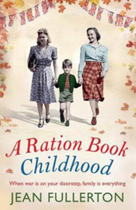 Book cover of A Ration Book Childhood