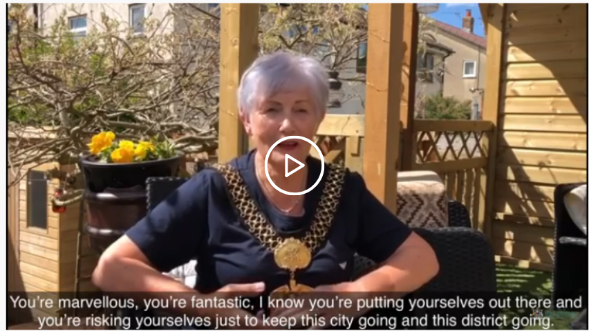 Video message from the Lord Mayor