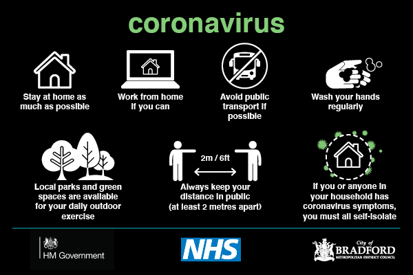 Coronavirus advice May 2020