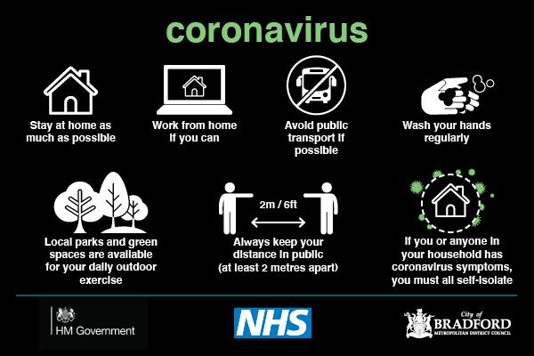 Coronavirus advice May 2020