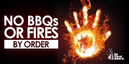 Be Moor Aware - no barbecues or fires