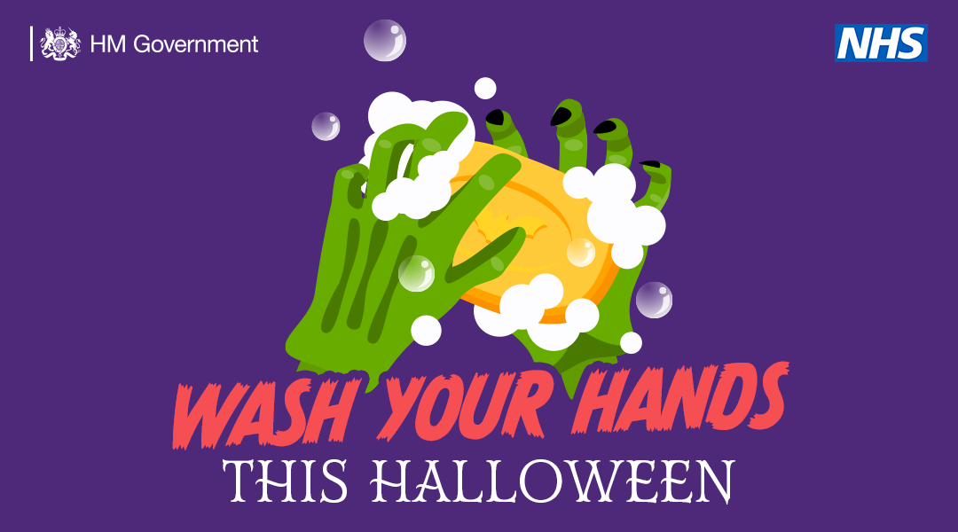 Wash you hands this Halloween