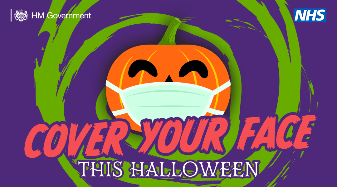 Cover your face this Halloween