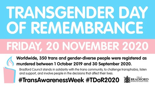 Transgender day of awareness