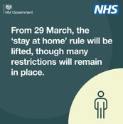 29th March stay at home lifted