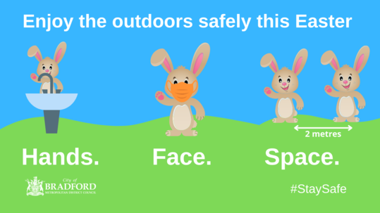 Stay safe this Easter
