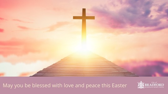 May you be blessed with love and peace this Easter