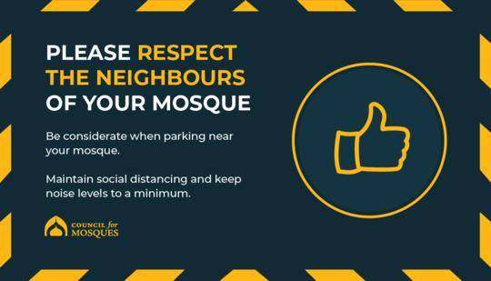 Ramadan respect your neighbours