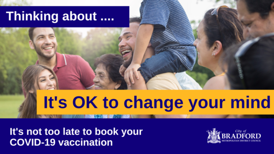 Its ok to change your mind covid vaccine