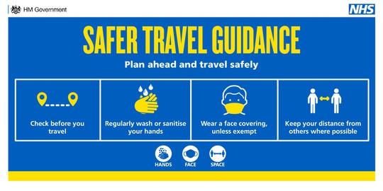 safer travel guidance
