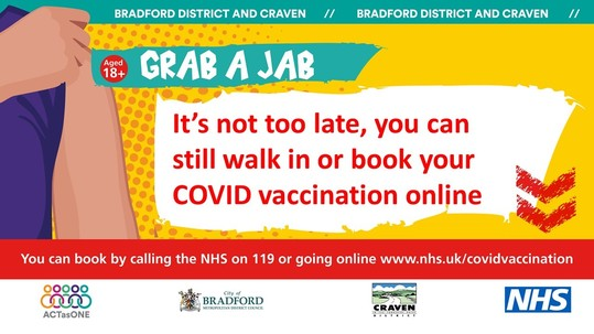 Still time to get your COVID vaccination
